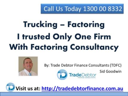 Transport Finance Company - I trusted Only One Firm Canterbury Canterbury Area Preview