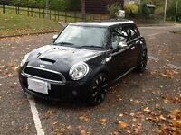 MINI COOPER S (2008) BLACK WITH CHROME TRIM