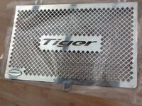 Triumph radiator protector and oil cooler guard, brand new