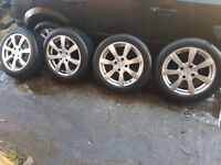 """PEUGEOT 16""""ALLOYS WITH TOYO WINTER TYRES"""