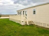 Luxury static home, with field views and decking, fully equipped - 2 bedroom double glazed & heated