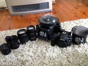 Canon 7Dmark2,Underwater Housing, 4 lenses Manly Manly Area Preview