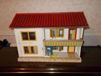 Vintage retro 1960s dolls house.