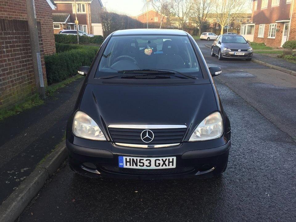 2003 Mercedes-Benz A Class 140 1.4manual full year mot ...