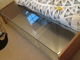 Glass pet cage
