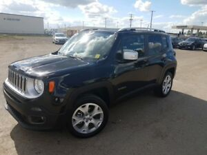 2017 Jeep Renegade Limited VERY LOW KMS, 4X4, REVERSE CAMERA,...