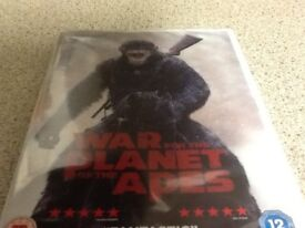 War for the planet of the apes dvd brand new