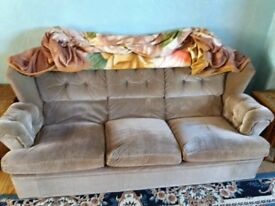 Three piece suite for sale - priced for quick sale