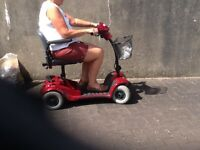 Mobility scooter - excellent condition, recently serviced