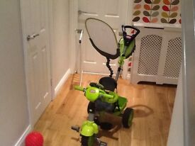Little Tikes Smart Trike Green - like new