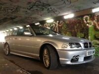 BMW 325i Convertible.. Genuine 60k