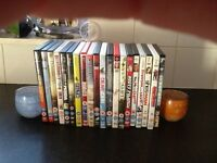 20 movie DVDs