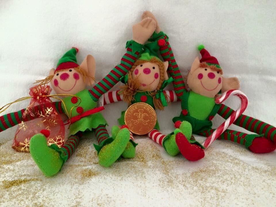 Christmas Elf ( with Velcro hands )