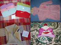 Huge bundle of 47 clothes for girl 3-4 years old.