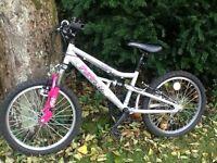Girls 20 inch Apollo Pure bike