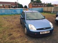 2003 FORD FIESTA 1.25 BREAKING ALL PARTS CHEAP!