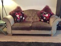 Schreiber Highcliffe Grey Sofa
