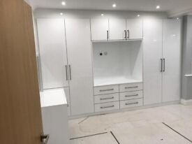 WARDROBES FITTED MADE TO MEASURE KITCHEN CUSTOM MADE GLASS AND WOOD