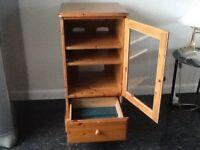 Antique Wood Storage unit