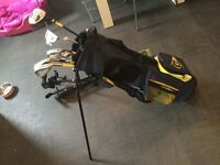Junior golf set and trolley