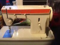 Electric singer sewing machine.