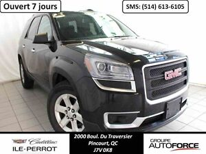 2015 GMC ACADIA 4WD SLE 7 PASS, CAM RECUL, MAGS, 4WD