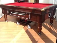7x4 reconditioned slate bed pub pool table