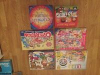 Selection of kids games