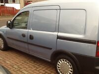 VAUXHALL COMBO 59 PLATE FOR SALE