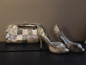 Spring shoes and clutch size 9
