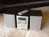 Sanyo Hi Fi with CD Player and DAB Radio