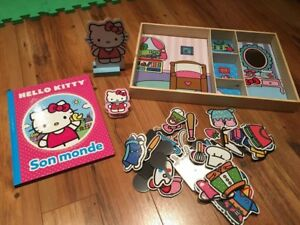 Hello Kitty magnetic dress up set