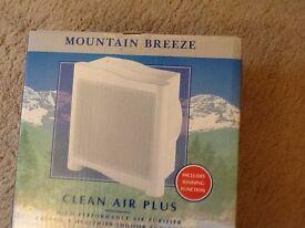 Clean Air Purifier NEW BOXED