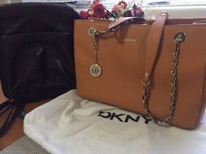 DKNY tote shoulder bag with FREE Milleni Genuine leather backpack Hornsby Hornsby Area Preview