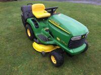 John deere ltr180 ride on mower lawnmower
