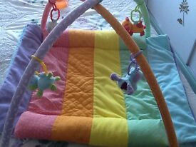Blossom Farm 3 in 1 tummy time arch and quilt
