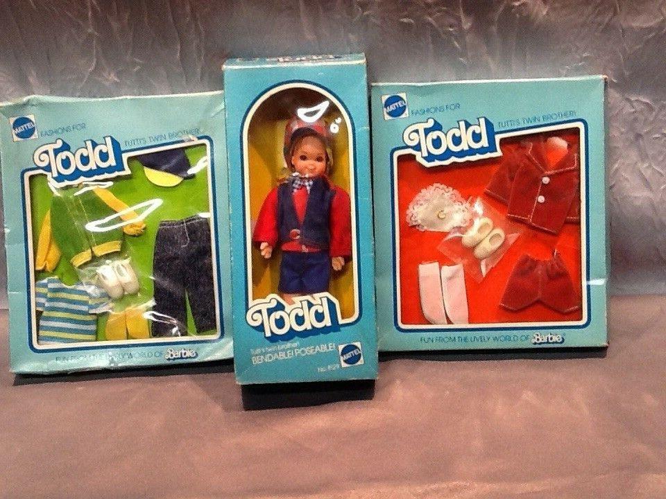 Barbie Alt Todd In Original Karton Mit 2 Outfit