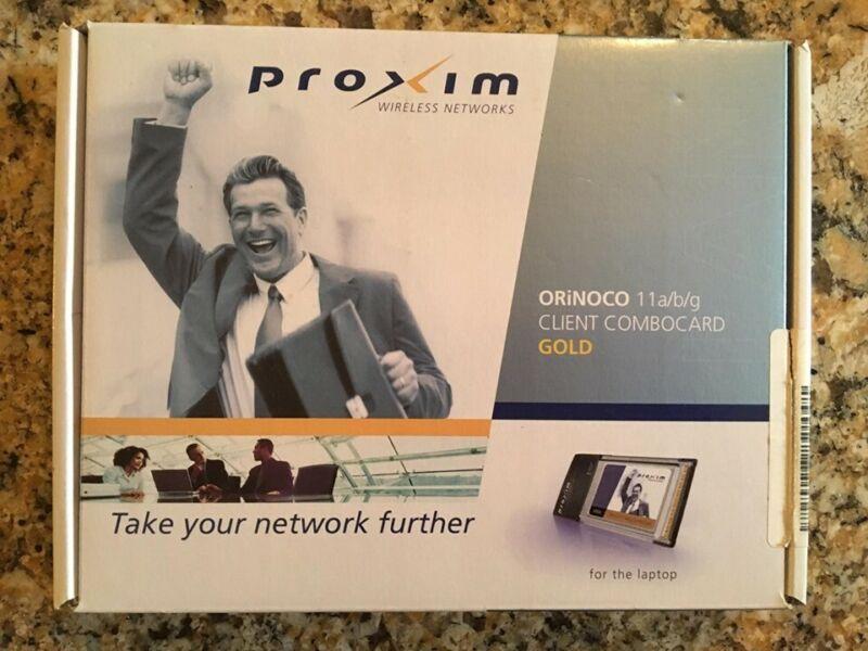 PROXIM ORiNOCO 11 a/b/g Client Combo Card GOLD 8480-WD Wireless Laptop Network