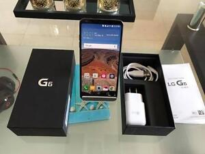 LG G6 , Black , 32GB , Déverrouillé en état neuf