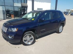2017 Jeep Compass Sport/North 4X4, LEATHER, AUTOMATIC, SUNROO...