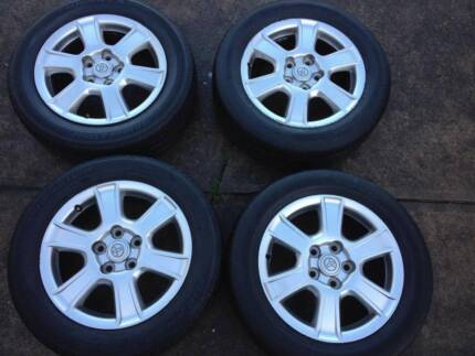 2006 Toyota Camry Sportivo alloy wheels x 4 Galston Hornsby Area Preview
