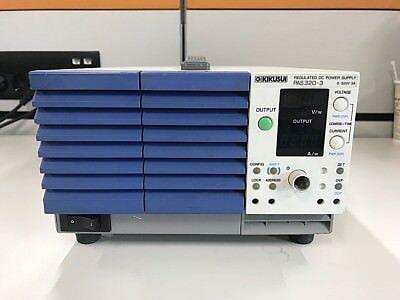 Kikusui Pas320-3 Regulated Dc Power Supply 320v 3a