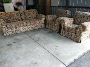 3 Piece Lounge Suite 2 Seater 2 Arm Chairs Comfortable Sofa Furniture
