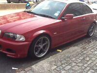 RARE BMW 325ci. IMOLA RED 2 door coupe , msport