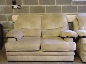 Double seater sofa and matching single chair