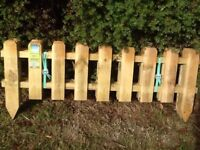 Small picket fences for sale