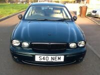 Jaguar X Type SE D, 4 Door Saloon, Green, GOOD CONDITION