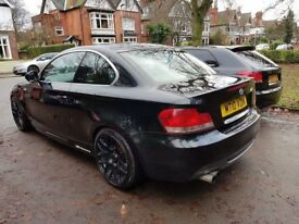 Msport bmw 118d coupe 2010 plate
