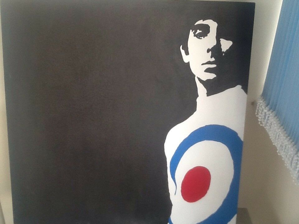 Canvas Keith moon