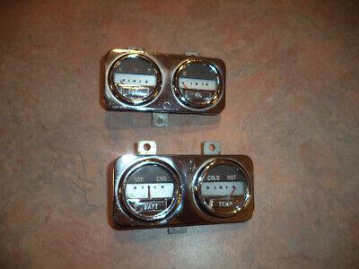 1949 Mercury dash gauges
